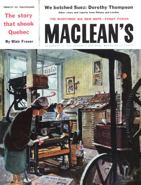 Issue: - November 1956 | Maclean's