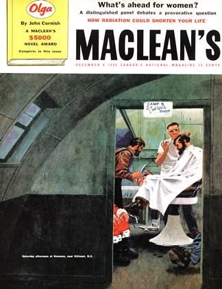 Cover for the December 8 1956 issue