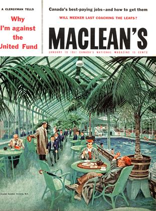 Cover for the January 19 1957 issue