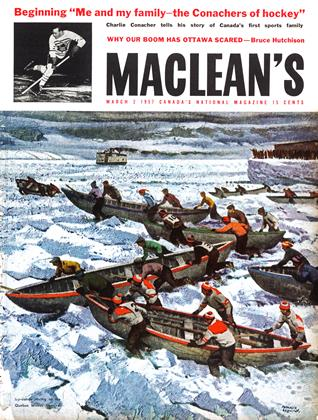 Cover for the March 2 1957 issue