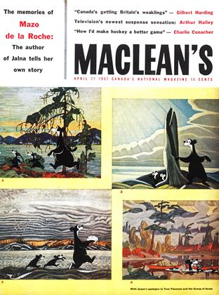 Cover for the April 27 1957 issue