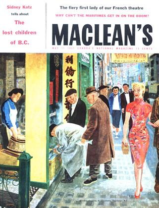 Cover for the May 11 1957 issue