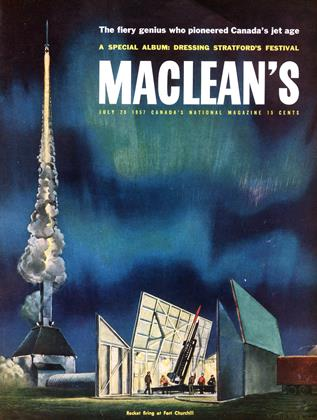 Cover for the July 20 1957 issue