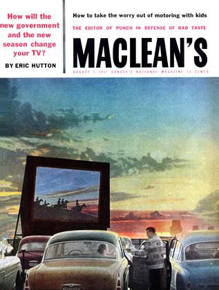 Cover for the August 3 1957 issue