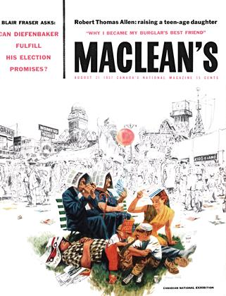 Cover for the August 31 1957 issue