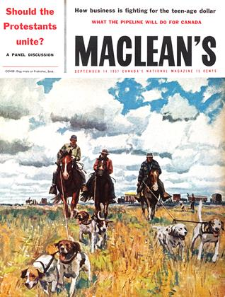 Cover for the September 14 1957 issue