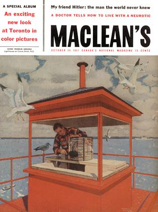 Cover for the October 26 1957 issue