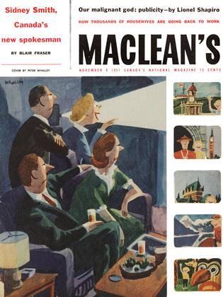 Cover for the November 9 1957 issue