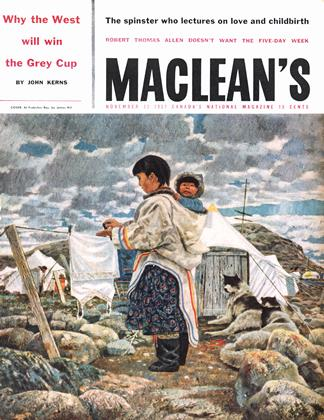 Cover for the November 23 1957 issue