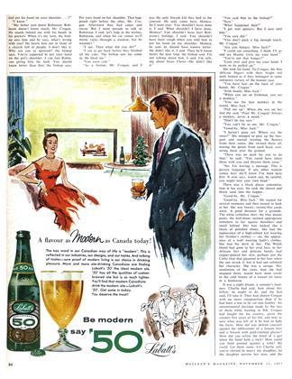 Advertisement, Page: 54 - NOVEMBER 23 1957 | Maclean's
