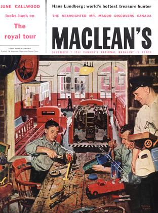Cover for the December 7 1957 issue