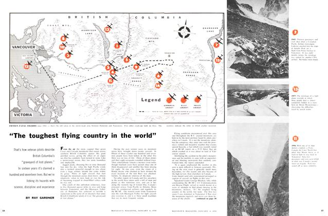 """""""The toughest flying country in the world"""""""