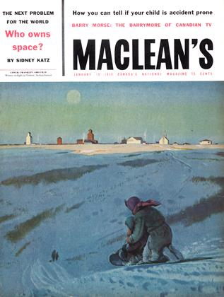 Cover for the January 18 1958 issue