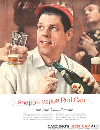 CARLING'S RED CAP ALE, Page: 59 - MARCH 29, 1958 | Maclean's