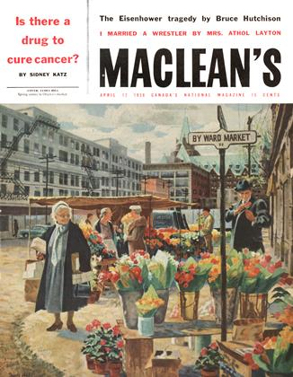 Cover for the April 12 1958 issue
