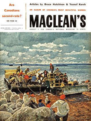 Cover for the August 2 1958 issue