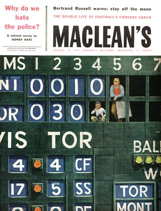 Cover for the August 30 1958 issue