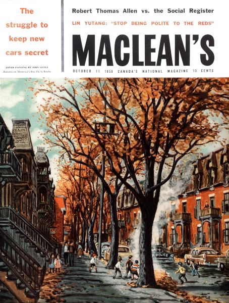 Issue: - October 1958 | Maclean's