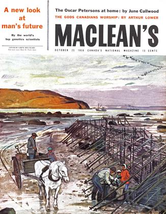 Cover for the October 25 1958 issue