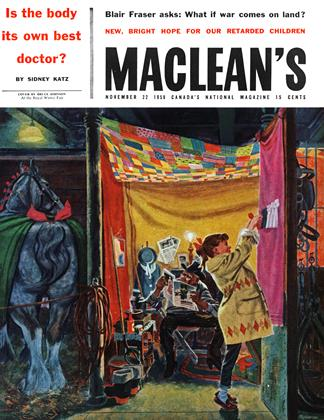 Cover for the November 22 1958 issue