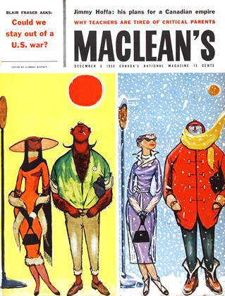 Cover for the December 6 1958 issue