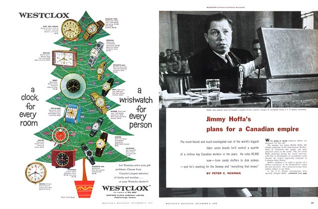 Jimmy Hoffa's plans for a Canadian empire