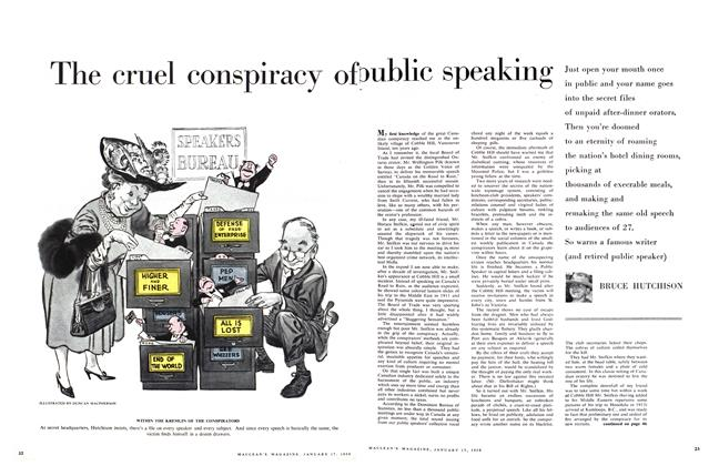 The cruel conspiracy of public speaking