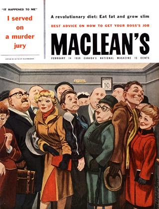 Cover for the February 14 1959 issue