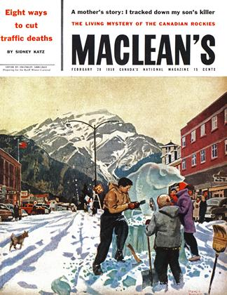 Cover for the February 28 1959 issue
