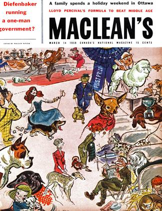 Cover for the March 14 1959 issue