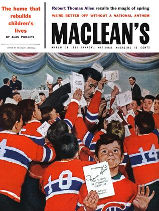 Cover for the March 28 1959 issue