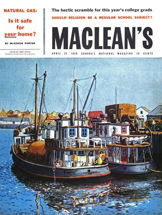 Cover for the April 25 1959 issue