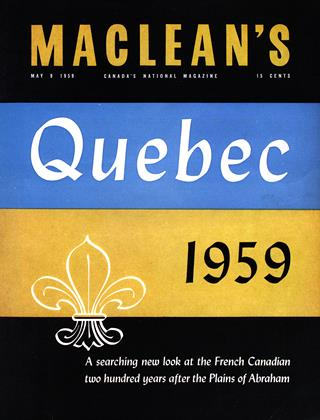 Cover for the May 9 1959 issue