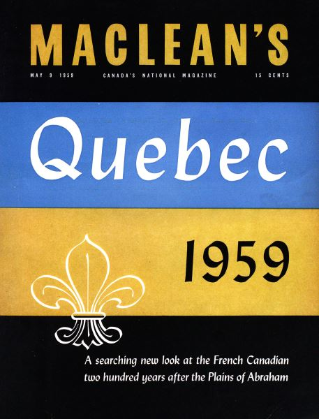 Issue: - May 1959 | Maclean's