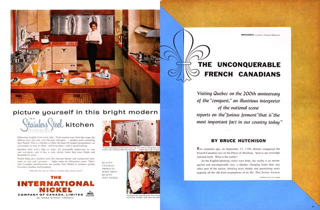 THE UNCONQUERABLE FRENCH CANADIANS
