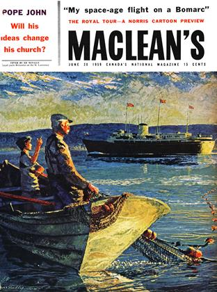 Cover for the June 20 1959 issue