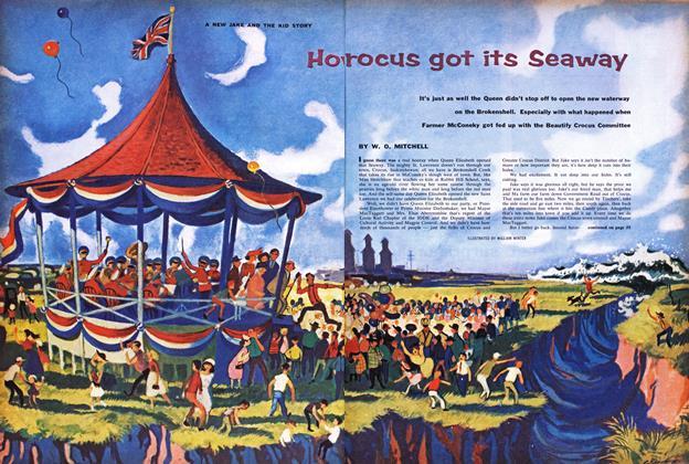 How Crocus got its Seaway
