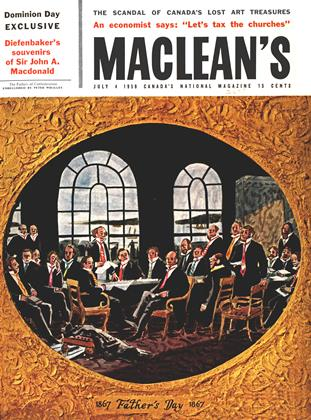Cover for the July 4 1959 issue