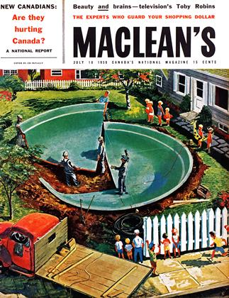 Cover for the July 18 1959 issue