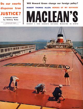 Cover for the August 1 1959 issue