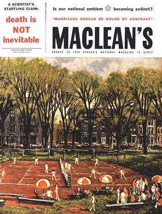 Cover for the August 15 1959 issue