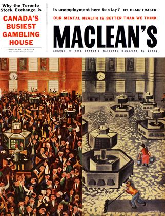 Cover for the August 29 1959 issue