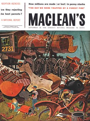 Cover for the September 26 1959 issue