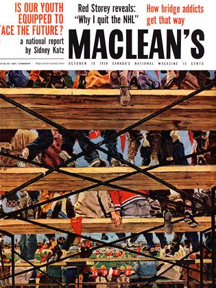 Cover for the October 10 1959 issue