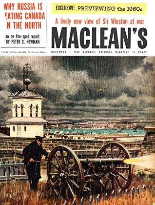 Cover for the November 7 1959 issue