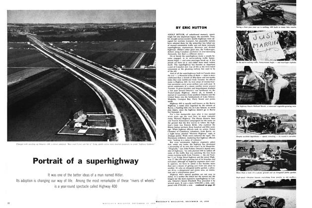 Portrait of a superhighway