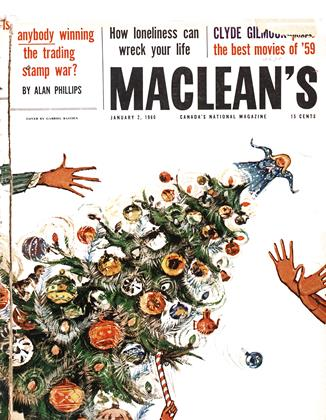 Cover for the January 2 1960 issue
