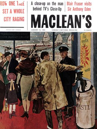 Cover for the January 16 1960 issue