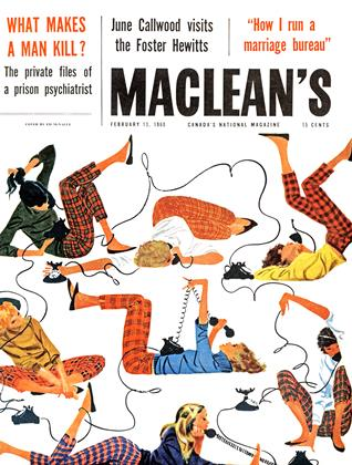Cover for the February 13 1960 issue