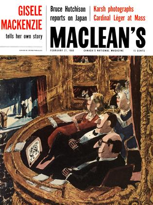 Cover for the February 27 1960 issue